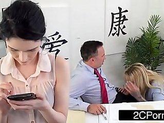 Busty Cougar Boss Ryan Conner Fucks Her Employee