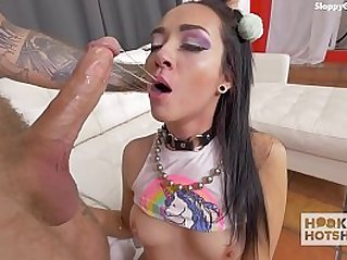 Deluxe Gagging Puking Compilation sample