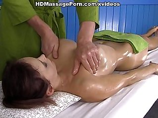Very private massage for hot Olivia scene