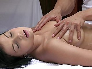 ORGASMS Beautiful asian girl has her sexy body massaged and pleasured by hot guy
