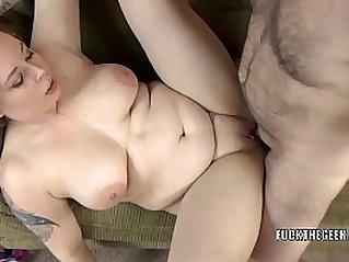 Busty swinger Tiffany Blake takes cock in her plump twat