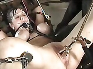 Beautiful brunette euro chick fucking passionately in a homemade sex video