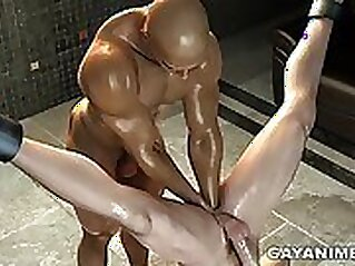 Big black cock is what strong cartoon headed Alektra Rose is after