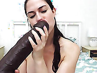 BBC Sucking Babe And Fucking Her Cock