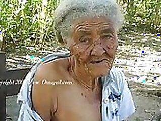 Busty granny takes pounding